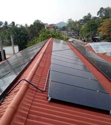 20kw Solar energy system – Mr. Bhathiya, Rathnapura