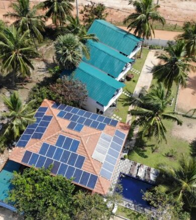 15kW Solar Energy System – Mr. Wasantha Kumara, Kalpitiya