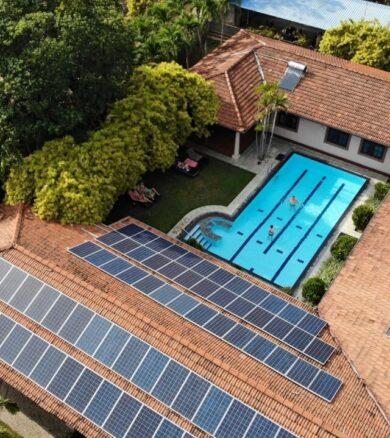 20kW Solar Energy System – Tropical Villas Resort, Negombo