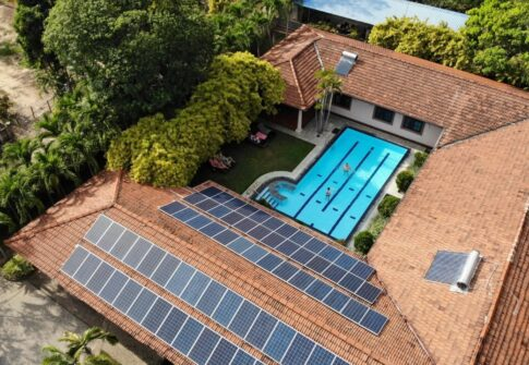 20kW Solar Energy System – Tropical Villas Resort, Negombo