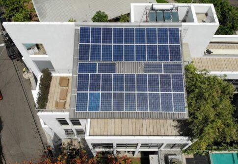 10kW Solar Energy System – Mr. Errol Weerasinghe, Nugegoda